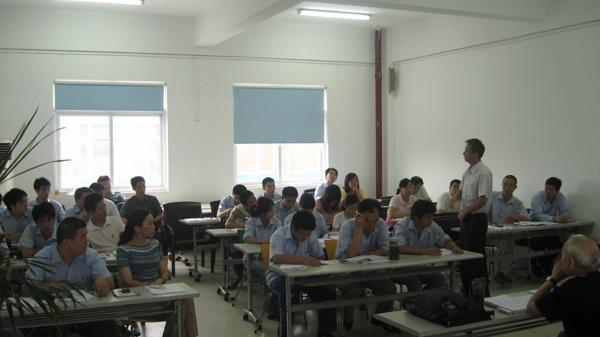 南京聚锋组织ISO9001:2008内部质量审核员外训